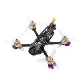 Eachine LAL3 145mm 3 Inch 3-4S FPV Racing Drone PNP Caddx Turtle V2 1080p 60fps HD Camera F4 FC 1408 3750KV Motor 25A ESC 300mW VTX