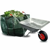 65L 80KG Wheel Home Garden Wheelbarrow Yard Garden Cart Pneumatic Tyre For Lawn Construction