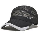 Dad Hats Men's Meah Baseball Cap  Breathable Visor Hat