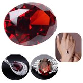 13,89 ct Pigeon Blood Red Ruby unbeheizt 12 x 16 mm Diamant Oval Cut VVS lose Edelsteine Dekorationen