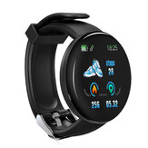 Bakeey D18 Heart Rate Blood Pressure O2 Monitor Message Reminder Camera Control USB Charging Smart Watch