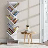 Yerel Ambalaj 66 * 39 * 9.5 cm Tedarikçisi Bir Stil 10 Katmanlar Basit Kitaplık Raf Zemin Küçük Kitaplık Kitaplık çocuk Kitaplık Yaratıcı Ağacı Kitap raf Öğrenciler için