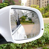 Car Waterproof Nano Anti-fog Rearview Mirror Soft Protective Film Transparent