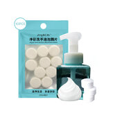 10pcs Effervescent Tablets Set Hand Sanitizer for Bubble Free Washing Foam Hand Sanitizer Soap Dispenser