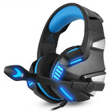Hunterspider V3 3.5mm Wired LED Casque de jeu antibruit avec micro pour ordinateur portable PS4 Xbox One