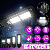 500W 1000W 1500W 2500W 150/462/748/924 LED Solar Power Street Light PIR Motion Sensor Aplique + Control remoto