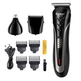3 in 1 Men Electric Hair Clipper Rechargeable Beard Shaver Razor Nose Hair Trimmer