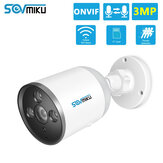 SOVMIKU SF05A 720P Wifi IP Camera Bullet ONVIF Outdoor Waterproof FHD CCTV Security Camera Two Way Audio APP Remote
