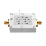 Ultra-low Noise NF0.6dB High Linearity 0.05-4G Wideband Amplifier LNA -110dBm Module