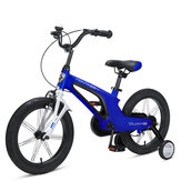 MONTASEN 14/16inch Kids Bike with Side Wheels Adjustable Height Child's Bicycles for 4-8 Year Old