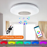 Dimmerabile LED RGBW Lampada da soffitto bluetooth Music Speaker lampada APP remoto Control