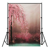 7x5ft Romantic Flower Vinyl Photography Background Photo studio Backdrop Props