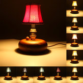 Pelusa pantalla de luz de la lámpara de pared colgantes de la decoración de estilo europeo dormitorios casa de la vendimia