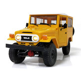 WPL C34KM 1/16 Metal Edition Kit 4WD 2.4G Crawler Off Road RC Auto 2CH Voertuigmodellen met koplamp