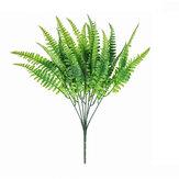 Jedna banda umělé kapradiny Rostlina perské trávy Plastická živá rostlina Umělý list Dekorace domácnosti Dekorace