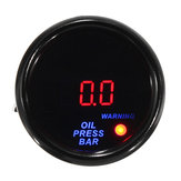 2 Inch 52mm 0 to 10 Bar LED Digital Display Oil Pressure Gauge