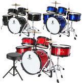 Jeanpole Музыкальный барабан Набор Набор игрушечных музыкальных детских инструментов Boy Junior Instruments