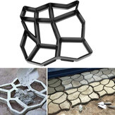 60x50cm Have DIY Plastic Path Maker Mould Stone Road Paving Cement Brick Mould