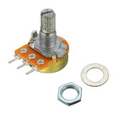 10pcs 10K Ohm Potentiometer Single Linear