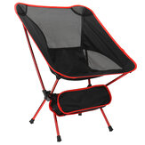 ZANLURE Outdoor Folding Beach Chair 120KG Load Capacity Portable Light Moon Space Chair Aviation Aluminum Tube Lazy Fishing Chair Fishing Accessories