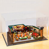 DIY Acrylic Display Case Box For LEGO 21319 Central Perk Friends Bricks Toy