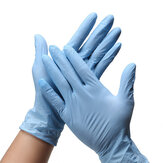 100pcs/box Disposable Nitrile Glove Safety Abrasion Resistance Antibacterial Protective Gloves