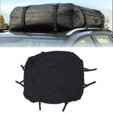 425L Universal Car Roof Cargo Bag Car Top Carrier Side Rail Rack Cross Bar Waterproof Travel Luggage Pouch