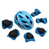 7pcs One set GUB Star Cycling kids Folding Children Bicycle Scooter Helmet BMX Skate Fixed Safe Cap Boy Girl