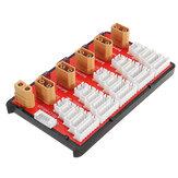 Power Genius PG parallelle laadunit ondersteunt 5 pakketten 2-6S Lipo-batterij XT60 T Plug