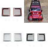 2 PCS Liga de Alumínio Farol Farol Frente Guarda para Traxxas TRX-4 1/10 Crawler Rc Car Parts