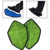 2Pcs/PairCopriscarperiutilizzabiliCoperchio automatico per scarpe da interno per esterni campeggio