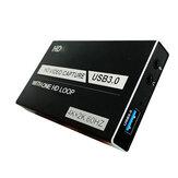 Karta przechwytywania wideo HD USB3.0 4K 1080P HD Game Pudełko do nagrywania na żywo Port mikrofonu audio z przenośnym konwerterem wideo One HD Loop