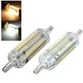 R7S 78 mm 5W 76 SMD 4014 LED Blanco puro Luz blanca cálida Lámpara Bombilla AC220V