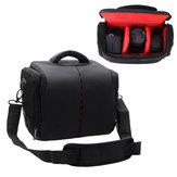 Universal portátil Impermeable DSLR Cámara hombro Bolsa Caso Nylon para Nikon para Canon para Sony
