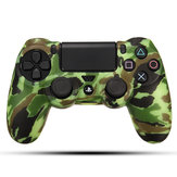 Durable Decal Camouflage Grip Cover Case Silicone Rubber Soft Skin Protector for Playstation 4 for Dualshock 4 Gamepad