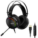 Tronsmart Glary Gaming Headset con 7.1 Virtual Surround Sound Interfaz USB Gaming Auriculares para Xbox Switch Computer Laptop