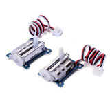 2pcs GOTECK GS-1502 1.5g Micro Digital Analog Servo Loading Linear Servo for RC Airplane Fixed-wing