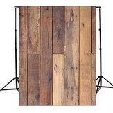 5x7Ft木の壁の床の写真の背景のビニールの背景写真のスタジオのプロップ