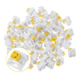 70PCS Pack Kailh BOX Heavy Dark Yellow Switch Linear Keyboard Switch for Keyboard Customization