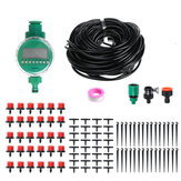 94pcs 25 Meters Drip Irrigation DIY Plant Self Watering Micro Drip Irrigation System Garden Hose Kits