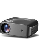 Vivibright F10 LCD Projector 2800 Lumens 1280 * 720P القرار 10000: 1 Contrast Ratio الدعم 23 Languages Home Theater Projector