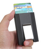 IPRee® Aluminium Alloy Card Holder Kartu Kredit Case ID Card Box Metal Wallet Clip Perjalanan Bisnis