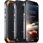 DOOGEE S40 5,5 tums IP68 IP69K vattentät NFC Android 9.0 4650mAh 3GB 32GB MT6739 4G Smartphone