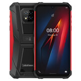 Ulefone Armor 8 IP68 IP69K Waterproof 6.1 inch 4GB 64GB 16MP Triple Rear Camera NFC 5580mAh Helio P60 Octa Core 4G Rugged Smartphone