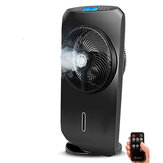 DIGOO DG-F1101 Touch-screen Spray Fan Remote Control 8 Gear Speed Adjustable 4 Cooling Modes Ultrafine Spray Multifunction