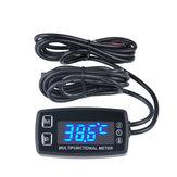 Wasserdichter LED Bildschirm Multifunktions-Motorrad-Digital-Tachometer-Thermometer