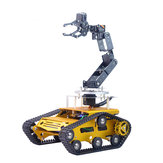 XIAO R Avatar Arduino2560 DIY 6DOF Metal RC Robot Arm Car Programmable APP PS2 Handle Control