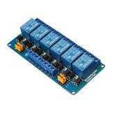 6 Channel 12V Relay Module High And Low Level Trigger BESTEP for Arduino - products that work with official Arduino boards