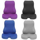 Сидеть и худеть из пены с эффектом памяти, подушка для поддержки поясницы, подушка для сиденья, подушка для спины, спинка для офисного стула