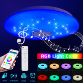 36W/60W 33CM Diameter Modern LED Music Ceiling Light RGB APP Bluetooth Speaker Down Lamp